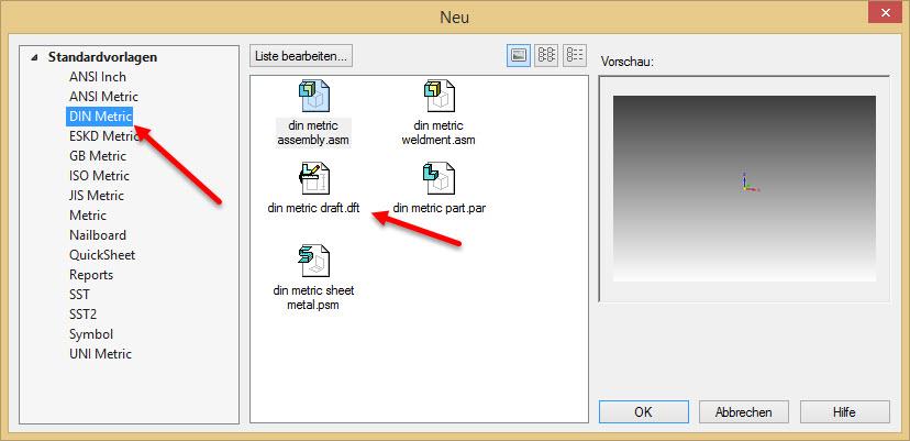 Solid Edge: Draftvorlage nach aktueller DIN Norm angepasst für ST8 ...