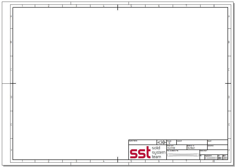 Zeichnungsvorlage nach aktueller DIN-Norm ab ST4 | CAD-helpdesk.de