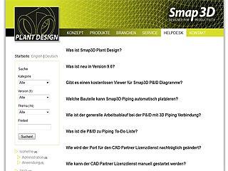 Smap3D Helpdesk